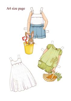 SMALLER DRESS UP DOLL OUTFITS