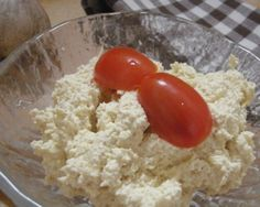 Tofu pomazánka s česnekem
