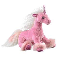 Wildlife Artists Unicorn Plush Stuffed Toy, Pink – The Toy Shop