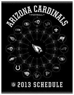 Arizona Cardinals 2013 Schedule