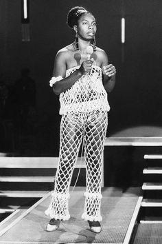 Nina Simone via Nina Simone, Beautiful Black Women, Beautiful People, Ying Gao, Gloria Steinem, Vintage Black Glamour, Blues Rock, Iconic Women, Black Girl Magic