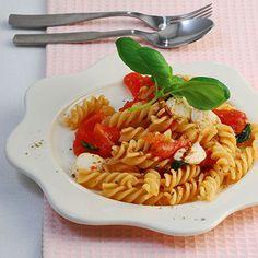 Mozzarella-Pasta Rezept | Küchengötter