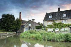 Cotswolds village of Lower Slaughter, #England #UK #iGottaTravel