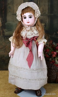 """19"""" French Bisque Bebe by Rabery & Delphieu ~ Very Pretty!"""