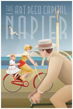 Art Deco Glamour by Stephen Fuller, via Behance