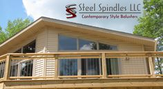 16 Best Steel Spindles Images In 2017 Banisters Deck