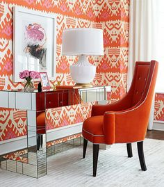 Shop Quinlan Mirrored Writing Desk from Regina Andrew Design at Horchow, where you'll find new lower shipping on hundreds of home furnishings and gifts. Office Inspiration, Chinoiserie, Home Office, South Shore Decorating, Mirrored Furniture, Mirrored Desk, Custom Drapes, Wonderwall, Cool House Designs