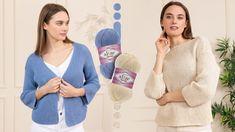 Knit Crochet, Sweaters, Cardigans, Stitch, Knitting, Celebrities, Youtube, Cotton, Jackets