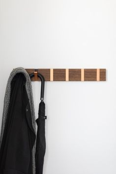 Lisa's coat hooks. See more on MADE x Unboxed.