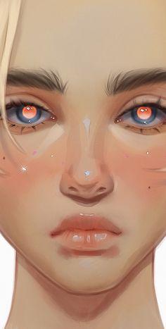 Pretty Art, Cute Art, Poses References, Digital Art Tutorial, Digital Art Girl, Anime Art Girl, Animes Wallpapers, Portrait Art, Aesthetic Art