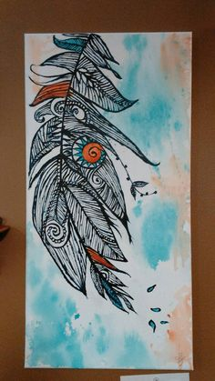 Check out this item in my Etsy shop https://www.etsy.com/listing/291799963/acrylic-and-canvas-painting-indian