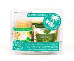 Live Beautifully Gift Sets (Tropical Breeze) @ http://www.iheartdenverstore.com