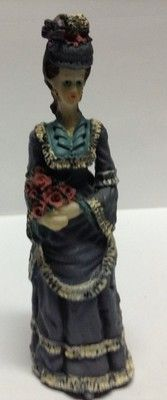 vintage asian Collectable figurine / Figurine Asiatique De Collection Ancienne