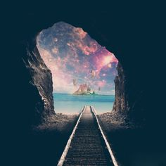 Light at the end of the tunnel ♥
