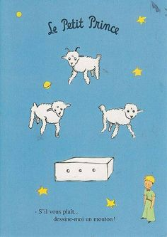 """Le Petit Prince - """"please, draw me a sheep! Petit Prince Quotes, St Exupery, Forever Book, Sad Art, Safari Theme, The Little Prince, Cool Cats, Cute Art, Childrens Books"""
