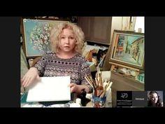 Декупаж. Как соеденить живопись и декупаж. Багет из рамы. Наташа Фохтина - YouTube