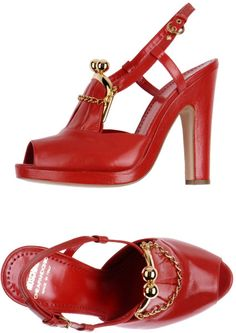c953e314f38b Love this  High-heeled Sandals  Lyst Red High