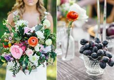 Luxe, vineyard wedding inspiration | Photo by Kristen Curette |  Design and Styling Jennifer Laura Design | Flowers by  Maxit Flower Design | 100 Layer Cake