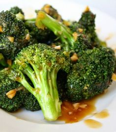 Recette facile de brocoli dans une sauce asiatique!