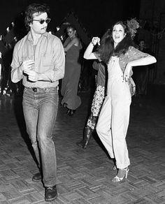 Bill Murray and Gilda Radner, Studio 54, 1978