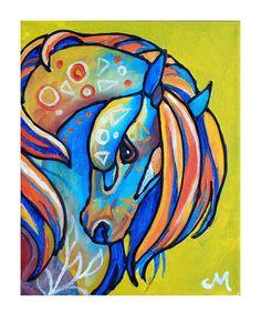 Love it Simple Art!!! Horse Art Print8x10 by Morian on Etsy, $15.00