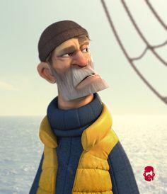 The Skipper, Matt Thorup on ArtStation at https://www.artstation.com/artwork/the-skipper
