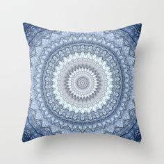 MANdala+Throw+Pillow+by+Monika+Strigel+-+$20.00