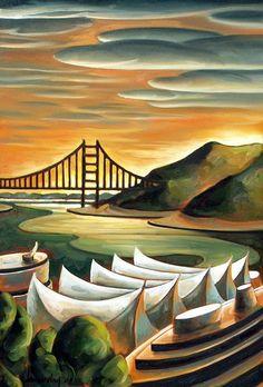 Dana Irving Art Canadian Artists, Art Nature, Surreal Art, Naive, Landscape Art, Surrealism, Whimsical, Art Pieces, Illustration