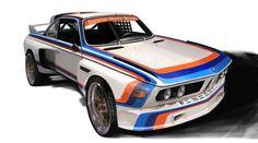 Chris Mikalauskas - BMW CSL race car