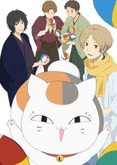 just imagine what this would be called:Nyanko-sensei and friends! Anime Character Names, Manga Characters, Anime Guys, Manga Anime, Natsume Takashi, Anime Suggestions, Hotarubi No Mori, Natsume Yuujinchou, Kuroko Tetsuya