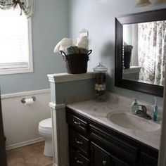 Traditional Bathroom Dark Vanity Design, Pictures, Remodel, Decor and Ideas - page 4