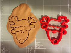 Christmas Reindeer Cookie Cutter