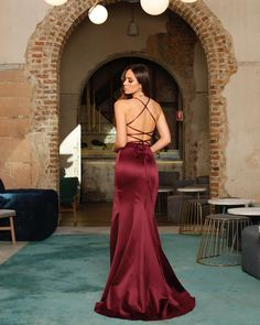 Shop the Georgia Gown by Jadore at White Runway in various colours with free delivery. A beautiful choice for a bridal gown, bridesmaid dress or formal dress. Wine Bridesmaid Dresses, White Runway, Bridal Gowns, Georgia, Formal Dresses, Beautiful, Shopping, Fashion, Bride Dresses