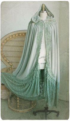 beautiful, blue, and cape image