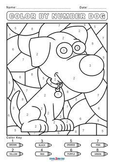Free Activity Pages For Kids Free Printables, Color Worksheets For Preschool, Kindergarten Coloring Pages, Kindergarten Colors, Preschool Colors, Number Worksheets, Shark Coloring Pages, Spring Coloring Pages, Coloring Sheets For Kids