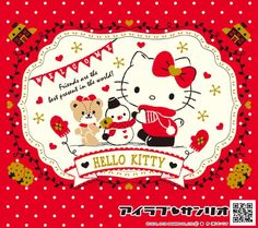 Hello Kitty Hello Kitty Vans, Hello Kitty My Melody, Sanrio Hello Kitty, Sanrio Wallpaper, Hello Kitty Wallpaper, Hello Kitty Christmas, Hello Kitty Pictures, Holiday Cards, Christmas Cards