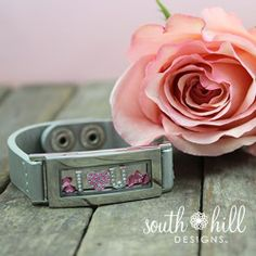 I love you!  Show your love in a South Hill Designs Locket Bracelet