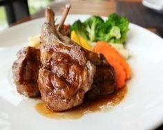 Cabrito al horno con verduras. Lamb Steak Marinade, Steak Marinade Recipes, Grilling Recipes, Sauce Recipes, Cooking Recipes, Healthy Recipes, Worcester Sauce Recipe, Cumin Lamb, Lamb Meatballs