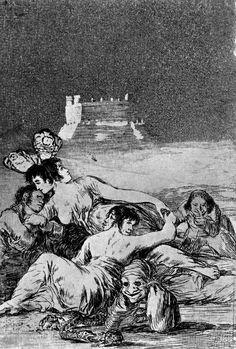 """En este capricho """"El sueño de la mentira y la inconstancia"""" de Goya vemos en la parte izquierda a la Duquesa de Alba con dos caras y mariposas en la cabeza, símbolo de inconstancia, recostada sobre Goya. Esto podría demostrar que podría haber habido amor entre los dos al menos por parte del pintor, pero ella no era constante en el amor y nunca mujer de un solo hombre."""