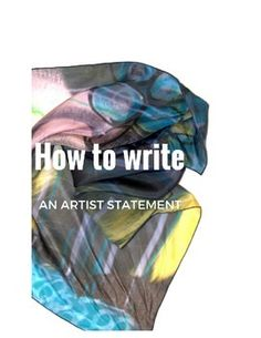 I use this for my AP students to help them to create a well thought out concentration statement, however I also use it in all of my regular art classes. The concept of an artist statement can be applied to other subjects areas, by helping students to write a bio.
