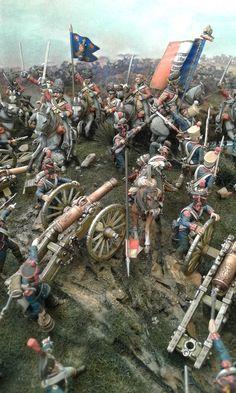 Explore photos on Photobucket. Military Diorama, Military Art, Military History, Waterloo 1815, Battle Of Waterloo, Bataille De Waterloo, Wargaming Terrain, French History, Military Modelling