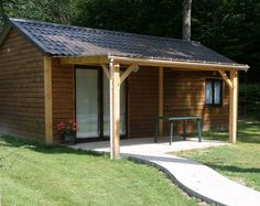 Chalet confort 2 chambres.