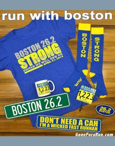 Boston Marathon 2014 - United We Will Run On! #bostonmarathon #goneforarun