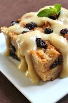 If you're looking for the best bread pudding recipe, try baking this bread pudding with vanilla sauce! This easy dessert recipe incorporates cinnamon, farmhouse-style bread, raisins, brown sugar, and vanilla to create a delicious bread pudding. Your friends and family will love eating this dessert at Thanksgiving, Christmas, or Easter!