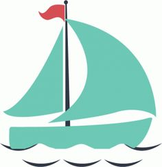 Silhouette Online Store - View Design #61978: sail boat