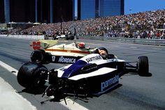 Marc Surer & Nelson Piquet, Dallas 1984