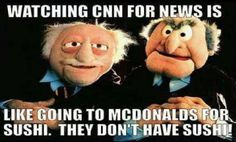 So true! Clinton News Network feeding America fake news... and what's sad people actually believe it!!!