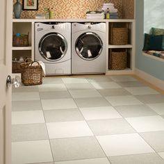 Daltile recycled content ceramic floor tiles - Endurance Series - Calcium and/or Barium