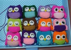 Owls. Free crochet pattern