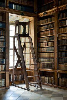 the melk abbey library in austria